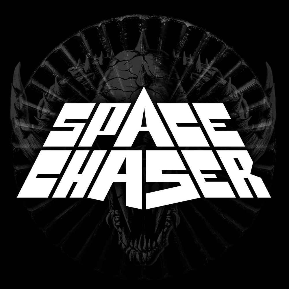 Space Chaser, Logo, Metal Bash