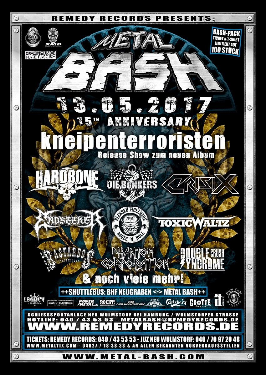 Metal Bash, 2017, Flyer, Festival Poster