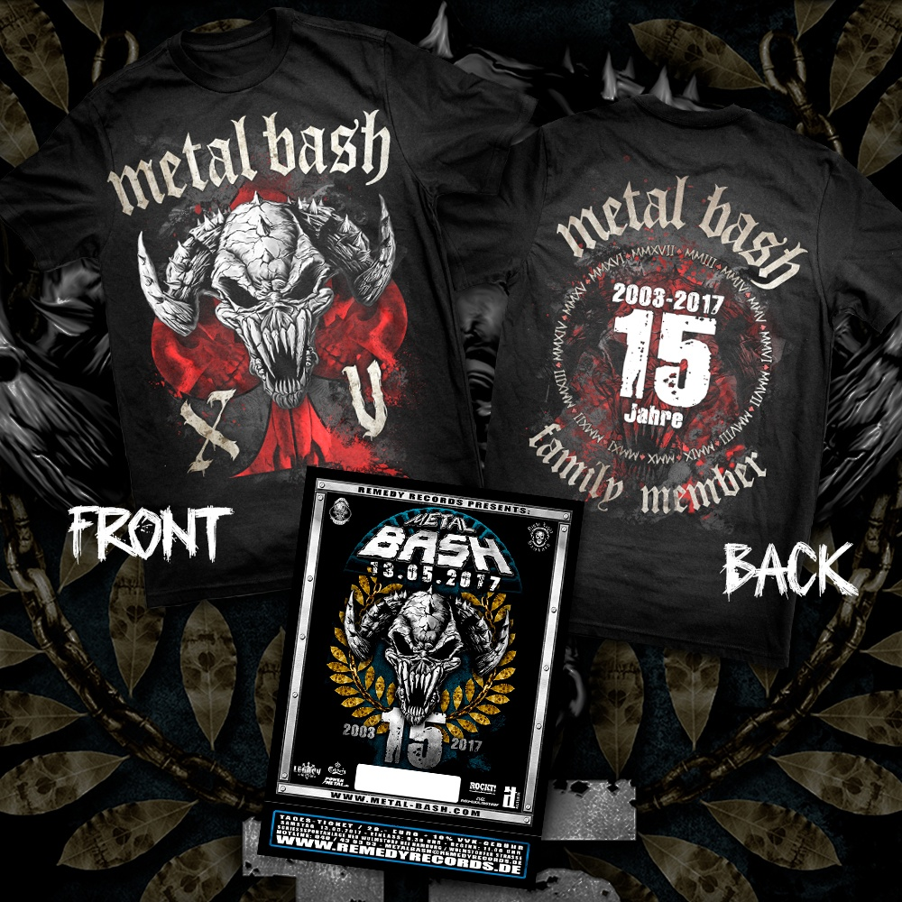 Metal Bash, Festival, Ticket, Bonus, T-Shirt