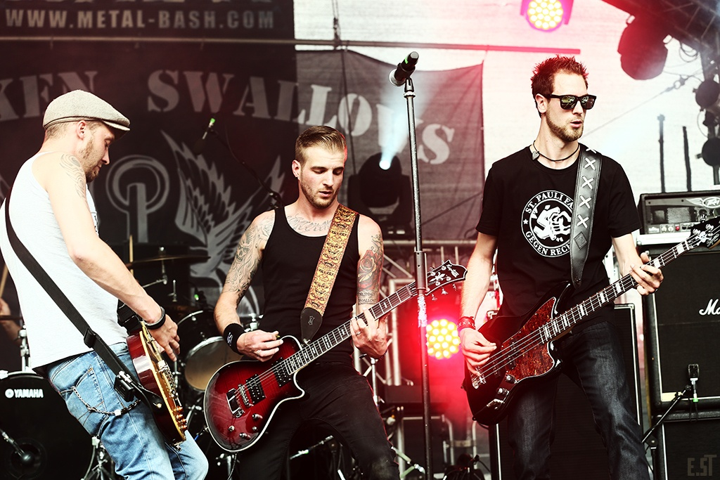 Drunken Swallows, Metal Bash Festival