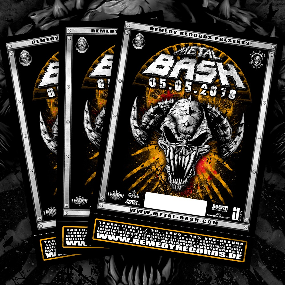 Metal Bash 2018, Festival, Ticket, Metalfestival