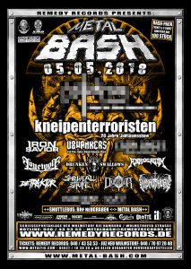 Metal Bash 2018, Flyer, Festival, Open Air
