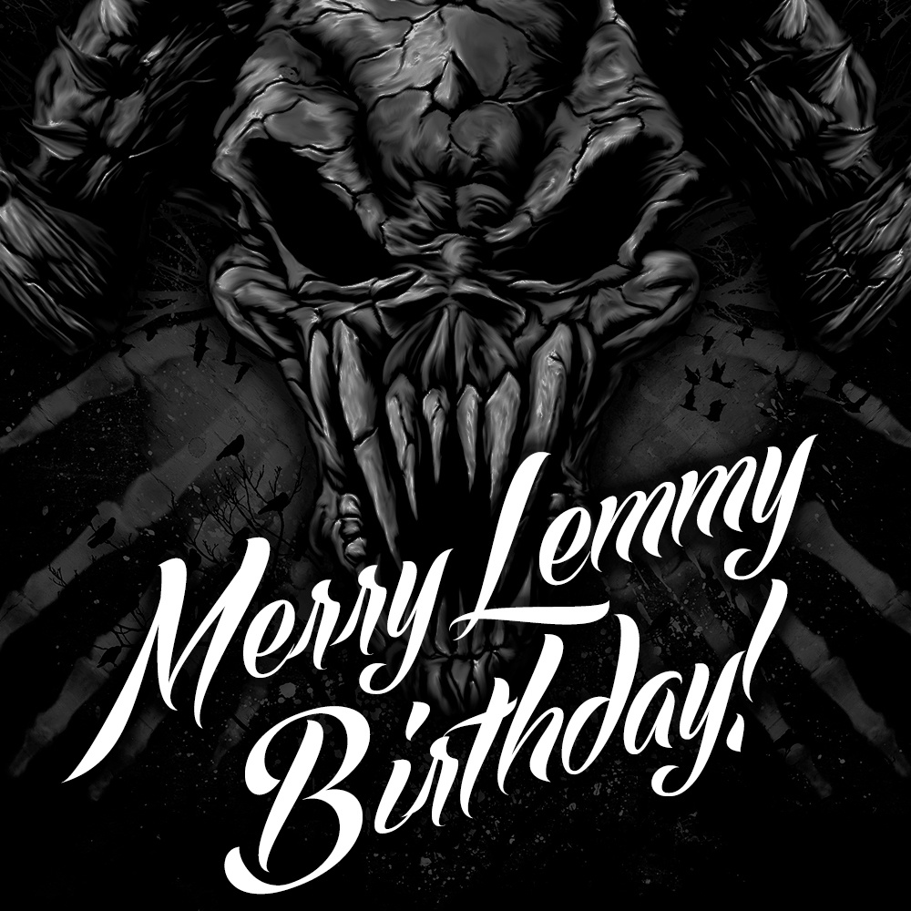 Metal Bash 2018, Merry Lemmy Birthday
