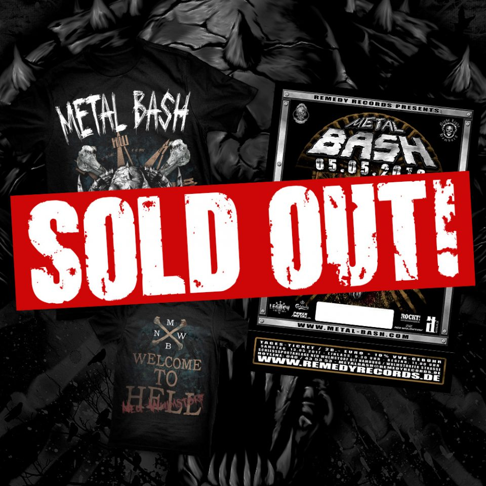 Metal Bash Festival, Bash Pack, Sold Out