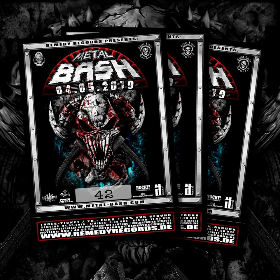 Ticket Metal Bash 2019