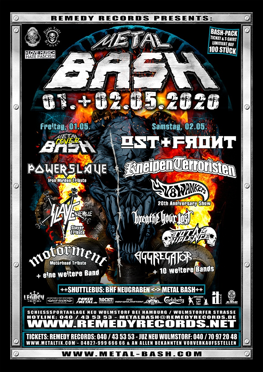 Metal Bash Open Air 2020, Heavy Metal