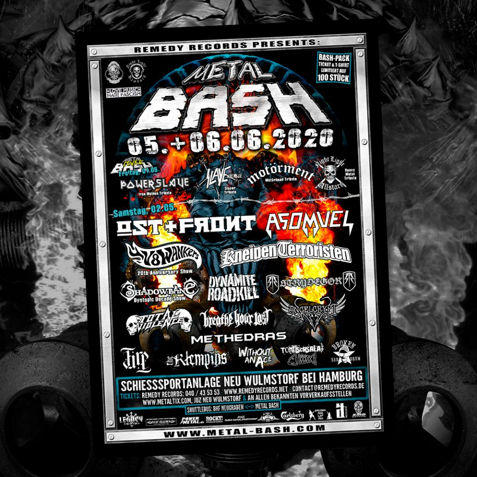 Metal Bash, Flyer, Poster