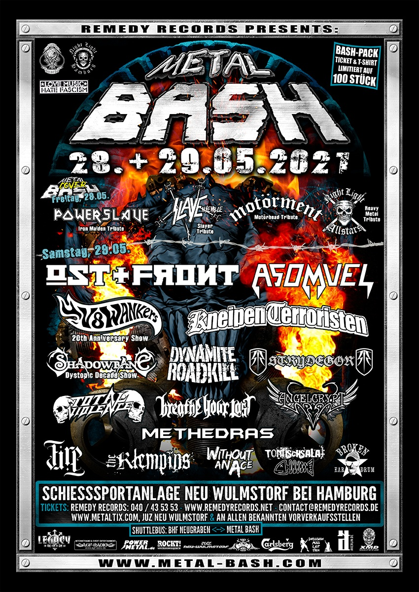 Metal Bash 2021 Flyer